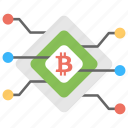 bitcoin technology, cryptocurrency technology, digital asset, digital currency, electronic money icon