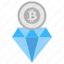 bitcoin diamond, bitcoin faster transaction, bitcore, btc diamond, super bitcoin icon