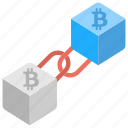 bitcoin blockchain, bitcoin blocks, bitcoin transaction, btc blockchain, cryptocurrency transactions icon