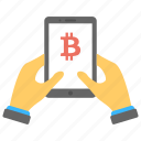 android bitcoin, bitcoin app, bitcoin mobile wallet, mobile cryptocurrency app icon