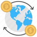 bitcoin currency exchange, bitcoin foreign exchange, bitcoin trading, cryptocurrency foreign currency exchange, foreign currency exchange icon
