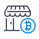 bitcoin, bitcoins, cryptocurrency, money, store, shop