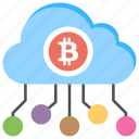 bitcoin cloud, bitcoin cloud mining, bitcoin network, cloud mining icon