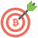 bitcoin target, bitcoin target bits, bitcoin target price, bitcoin target value, cryptocurrency payment system icon