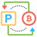 bitcoin to paypal, buy bitcoin with paypal, exchange bitcoin to paypal, sell bitcoin with paypal, transfer bitcoin to paypal icon