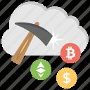bitcoin cloud, bitcoin cloud mining, bitcoin network, cloud mining icon