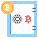 bitcoin software program, bitcoin storage, bitcoin wallet, cryptocurrency transaction, digital wallet icon