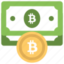 alternative currency, bitcoin cash, bitcoin currency, cryptocurrency, digital currency icon