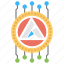 ardor, ardor crypto, ardor cryptocurrency, ardor service platform, blockchain technology icon