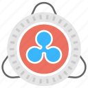 currency exchange, digital currency, ripple, ripple payment network, ripple transaction protocol icon