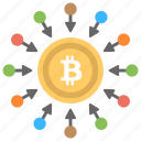 bitcoin network, decentralization in bitcoin, decentralized, decentralized cryptocurrency exchange, decentralized exchange icon