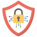 cyber security, digital security, encrypted, internet security, unauthorized access icon