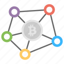 bitcoin club, bitcoin network, bitcoin network diagram, bitcoin network structure, electronic bitcoin icon
