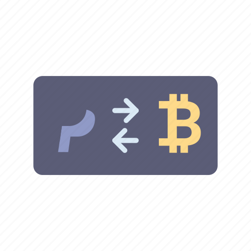 banking, bitcoin, currency, exchange, payment, paypal, to icon