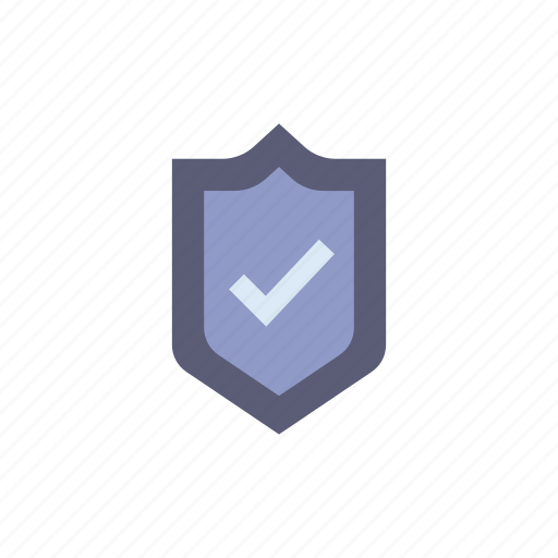 checkmark, encrypted, encryption, privacy, protection, security, shield icon