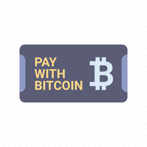 bitcoin, blockchain, buy, cryptocurrency, pay, payment, shopping icon