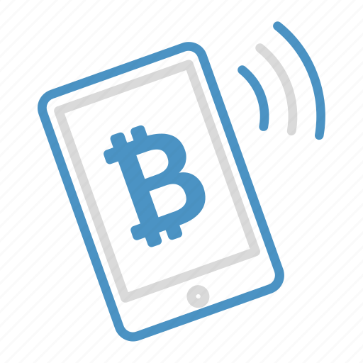 bitcoin, buy, cryptocurrency, income, mobile, sell, smartphone icon