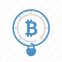 bitcoin, cryptocurrency, keylock, save, security icon