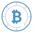 bitcoin, coin, cryptocurrency, income, money icon