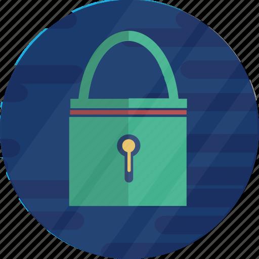 bitcoin, cryptocurrency, key, lock, padlock, protection icon