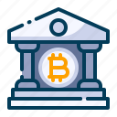 bank, bitcoin, building, business, cryptocurrency, digital money, electronic cash