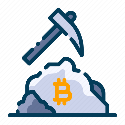 bitcoin, business, cryptocurrency, digital money, electronic cash, mining, technology icon
