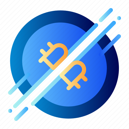 Bitcoin, business, cryptocurrency, digital money, divide, electronic cash, halving icon - Download on Iconfinder
