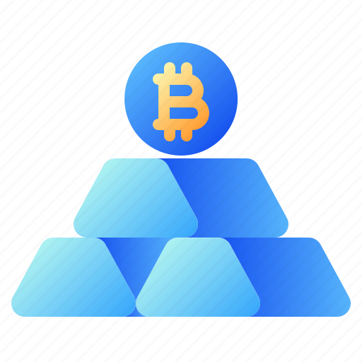 Bitcoin, business, cryptocurrency, digital money, electronic cash, ingot, investment icon - Download on Iconfinder