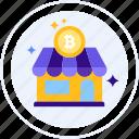 bitcoin, buy bitcoin, cryptocurrencies, exchange, market, store icon