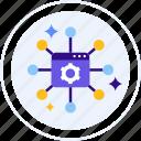 application, dapp, decentralized, program, software icon