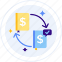 cashflow, journal, distributed, ledger, distributed ledger, cash flow