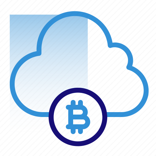Bitcoin, business, cloud, cryptocurrency, data, digital money, electronic cash icon - Download on Iconfinder