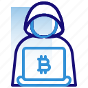 bitcoin, business, cryptocurrency, cyber crime, digital money, electronic cash, hacker
