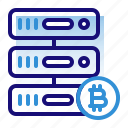 bitcoin, business, cryptocurrency, digital money, electronic cash, hosting, server storage