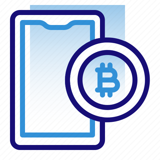 Bitcoin, business, cryptocurrency, digital money, electronic cash, mobile, smartphone icon - Download on Iconfinder