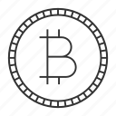bitcoin, coin, crypto, cryptocurrency, e-commerce, finance, money icon