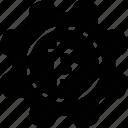 bitcoin, gear, integration, management, money, process, setting icon