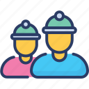 collier, engineer, archaeologists, mine, worker, miner, digger icon