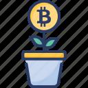bitcoin, enhancing, finance, growing, increasing, money, raise