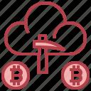 bitcoin, blockchain, cloud, mining, money, payment