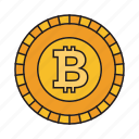 bitcoin, crypto, cryptocurrency, currency icon