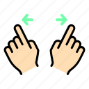 finger, gesture, hand, touch