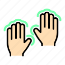 artboard, finger, gesture, gestures, hand, touch icon