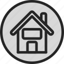 architecture, estate, home, homepage, house, real estate, realter icon
