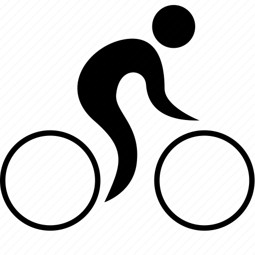 account, athlete, bicycle, cycler, cycling, game, man, olympic, person, player, road, sport icon