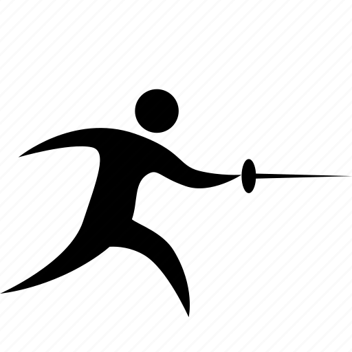 account, athlete, blade, fencing, game, man, olympic, person, player, protection, sport icon