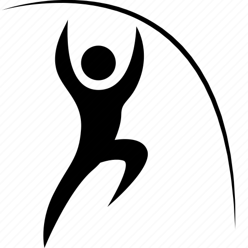 account, athlete, game, man, olympic, person, player, pole, sport, vault icon