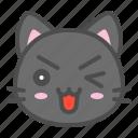 avatar, cat, cute, face, kitten, smile