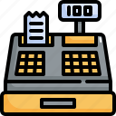 money, machine, cash, payment, cashier, finance icon