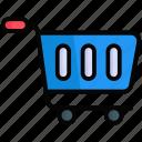 shopping crat, cart, basket, buy, trolley, shopping, online
